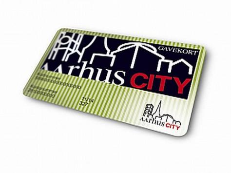aarhus city gavekort