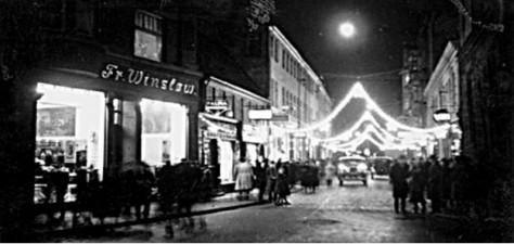 Julebyvandringer I Det Gamle Aarhus Aarhus City Foreningaarhus
