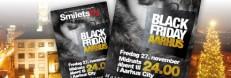 Black Friday-magasin, indlæg