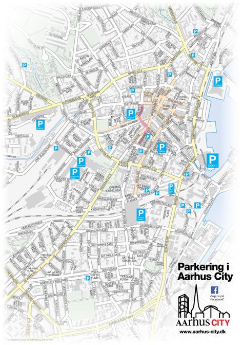parkering århus priser