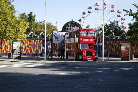 Let´sgo2014B, Londonbus foran Tivoli